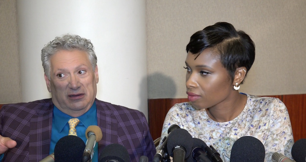 Jennifer Hudson and Harvey Fierstein Prep For 'Hairspray Live!'